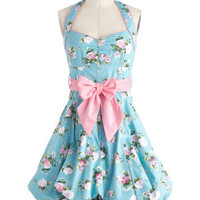 Indigo Gardens Dress in Pastel | Mod Retro Vintage Dresses | ModCloth.com