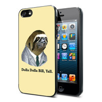 Dolla Dolla Bill Sloth - iPhone Case iPhone 4 Case iPhone 4S Case iPhone 5 Case iPhone 4 / 4S / 5 Case Hard Cover