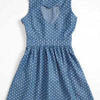 Mia Chica Chambray Dress (Little Girls & Big Girls) | Nordstrom