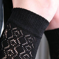 Socks By Sock Dreams  » Socks » B.ella Doris Crochet Trouser Sock