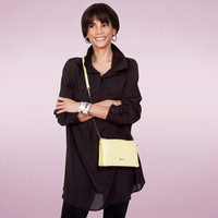 Draped Tunic with Front Pockets by Isaac Mizrahi
