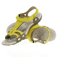 Sandals - Arpenaz Taxi Spartan Sandals with Interchangeable Top, Women's Hiking Walking Sandals, Yellow