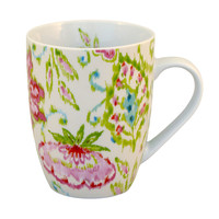 One Kings Lane - The Floral Table - S/4 Mugs, Marakesh