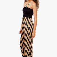 A&#x27;GACI Smocked Zig Zag Jumpsuit - Festival Favorites