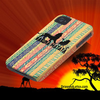 IPhone Case - lion king hakuna matata case Make to order Free Shipping and Sale for summer time