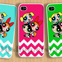 iPhone 5 case Powerpuff Girls - iPhone 4 Case Wonderful Triple Case