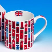 BBC America Shop - Royal Mail Letter Boxes Mug
