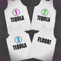 TEQUILA! Group Party Tanks - Underlinedesigns