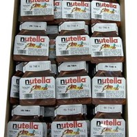 Nutella Hazelnut Chocolate Spread 96 Count: Grocery &amp; Gourmet Food