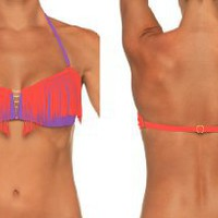 B.SWIM HELI-U39 Vendetta Bandeau Tops only: Clothing