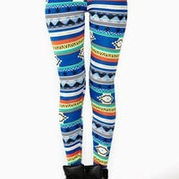 Santa Fe Stripe Leggings