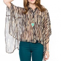 Clement Oversized Blouse - ShopSosie.com