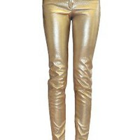 Faith Connexion Leather Pants Gold from MRS H | HANDPICKED DESIGNER FASHION, SKIN CARE & PERFUME