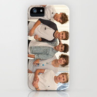 One Direction Lads iPhone Case by Karl Wilson Photography