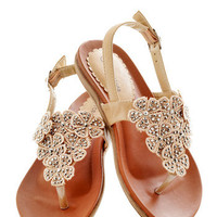 Flora Fascination Sandal | Mod Retro Vintage Sandals | ModCloth.com