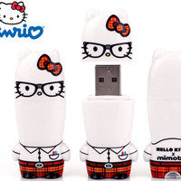 SANRIO - HELLO KITTY NERD KITTY MIMOBOT 8GB FLASH DRIVE