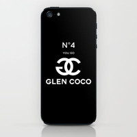 Glen Coco No 4 Black iPhone &amp; iPod Skin by RexLambo | Society6