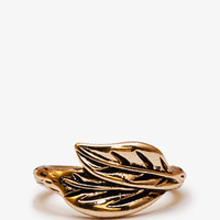 Etched Leaf Ring | FOREVER 21 - 1053591340