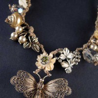 Lavinia Necklace from Rosie Weisencrantz | Made By Rosie Weisencrantz Jewellery | £165.00 | Bouf