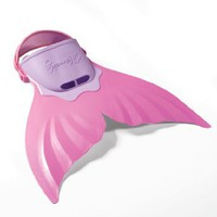 FINIS Mermaid Swim Fin (Pink): Sports & Outdoors