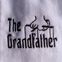 The GrandfatherGodfather inspired embroidered golf by KikiCloset
