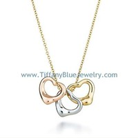 Find The Last Cheap Tiffany & Co Elsa Peretti Open Heart Pendant Necklace In Tiffanybluejewelry.com