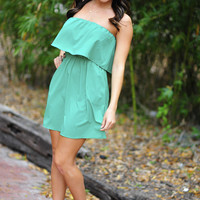 Unconditional Love Dress: Sea Greeb | Hope's