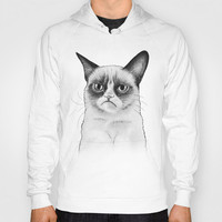 Grumpy Cat Shirt, Tard Drawing Hoody by Olechka | Society6