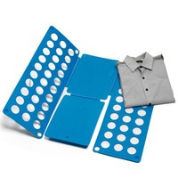 Adjustable Magical Clothes Shirts folding board Blue