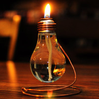 Light Bulb Oil Lamp by SASQUATCHsCREATIONS on Etsy