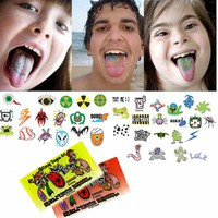 Tung Toos Tongue Tattoo Candy