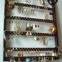 ELEGANT Earring Jewelry Holder and by JewelryHoldersForYou on Etsy