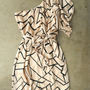 Geometric Angles Dress [3082] - $38.00 : Vintage Inspired Clothing & Affordable Fall Frocks, deloom | Modern. Vintage. Crafted.