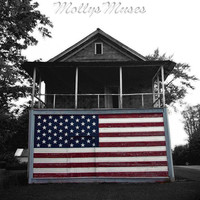 Patriotic Decor Americana photography Small Town USA black and white photography Flag 4th of July