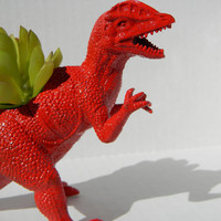Dinosaur Planter BIRTHDAY GIFT Great Dorm Office Home Decor Gift for Get Well  Boss' Teachers