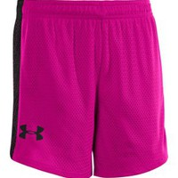 Under Armour Girls' Trophy Mesh Shorts - Dick's Sporting Goods