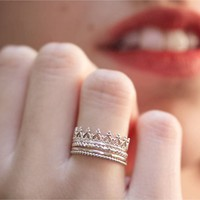 Sterling Silver Princess Set