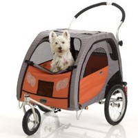 Petego Stroller Conversion Kit for Comfort Wagon Pet Bicycle Trailer, Large: Pet Supplies