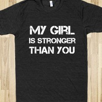 Stronger than you - Muscle Shirts - Skreened T-shirts, Organic Shirts, Hoodies, Kids Tees, Baby One-Pieces and Tote Bags