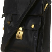Vintage Leather Satchel -Topshop USA