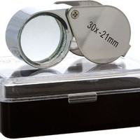 SE Jeweler's Loupe - 30X (Set of 2)