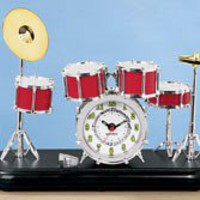 Drum Set Clock @ Harriet Carter