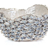 Ceramic Abalone Bowl | Decorative-accessories | Accessories | Z Gallerie