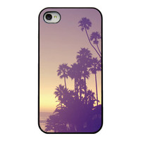 Sunset Iphone case  Iphone 4 4s and 5 case  by RetroLoveCases