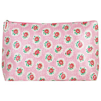 Buy Cath Kidston Lattice Rose Washbag online at John Lewis