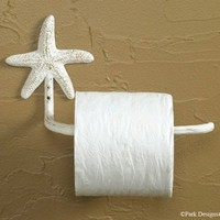 Tropical Nautical Starfish Toilet Tissue Paper Holder