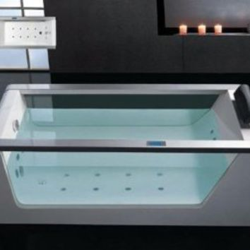 Whirlpool Bathtub With Inline Heater Drainage Device Waterfall Cascade Style Water Inlet Sydney Whirlpool System & Drainage - Amazon.com