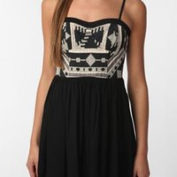 UrbanOutfitters.com &gt; Staring at Stars Embroidered Top Dress