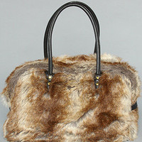 The Faux Rabbit Large Handbag