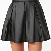Varsity Moto Skirt